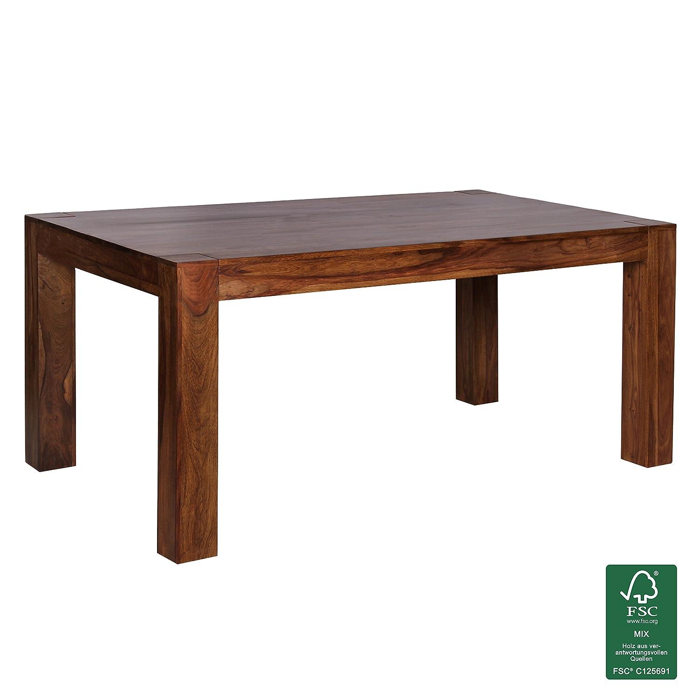 Schön Design Esstisch Holz Massiv 120 X 60 X 76 Cm | Moderner Esszimmertisch  Sheesham Palisander Für 4   6 Personen Massivholz | Holztisch Rechteckig |  Landhaus ...