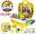 Mountain Top Ultimate Kid Chef Bring Along Kitchen Cooking Suitcase Set (26 Pieces)