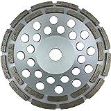 PRODIAMANT Premium Diamant-Schleiftopf 180mm universal 180/22,2 silber PDX829.025 - Bauhöhe 26 mm