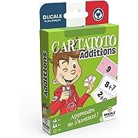 Ducale, le jeu français- Cartatoto Additions-Jeu de Cartes éducatif-Apprendre à Compter, 10006518