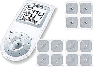Sanitas SEM 43 Digitales EMS/TENS-Gerät mit Elektroden Nachkaufset, Schmerzlinderung und Entspannung