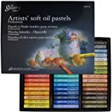Mungyo Gallery Artists' Soft Oil Pastels Set of 48 Colours, MOPV-48