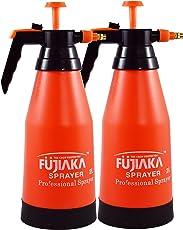 Fujiaka™ 2 Ltrs.Handheld Garden Sprayer, Water/Pesticide/Insecticide/Herbicides Sprayer (Pack of 2)