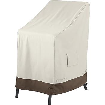 Amazon Basics - Copertura protettiva per sedie impilabili da giardino