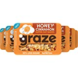 Graze Honey Cinnamon Protein Oat Bites Havermoutrepen - 6 x 3 Repen (57 gram)