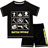 Battle Royale Pijamas de Manga Corta para niños Gaming