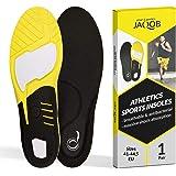 smart&gentle Plantillas gel para deporte y zapatos de trabajo - Plantillas de gel transpirables con una amortiguación excelen