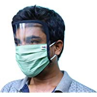 ClothX Full Face Cover Eye Shield Cotton Safety Mask : PACK OF 5 MASKS
