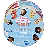 Disney Princess Comics 2-Inch Collectible Dolls, Doll Surprise Blind Box with Disney Princess Characters, Series 3- One Assor