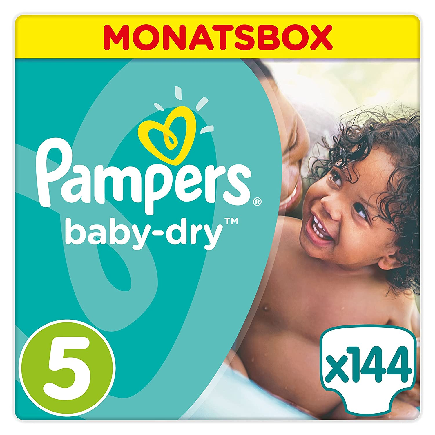 Pampers Baby Dry Windeln amazon