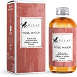 𝗧𝗛𝗘 𝗪𝗜𝗡𝗡𝗘𝗥 𝟮𝟬𝟮𝟬* 𝗣𝗥𝗘𝗠𝗜𝗨𝗠 Pure Rose Water - Natural Concentrated Rose Water Facial Toner for Calming Redness Firming and Balancing Oily Skin - Ready to Use + Sweetly Fragranced
