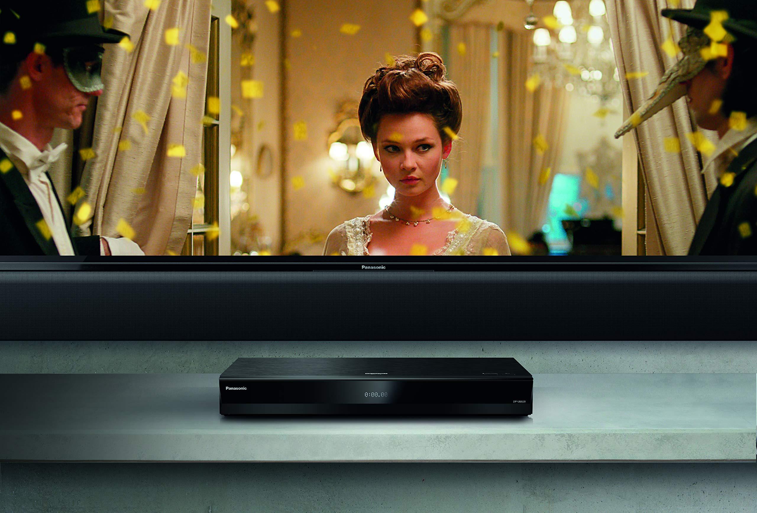81jPyn5kmjL - Panasonic DP-UB820EB-K Ultra HD Blu-Ray Player - Black