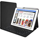 """ProCase Keyboard Case for iPad Pro 12.9"""" 2017/2015 Old Model with Built-in Apple Pencil Holder, Slim Lightweight Cover Folio"""