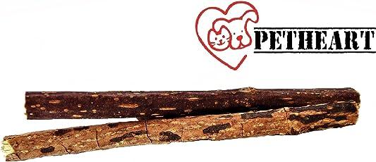 Petheart Katzenminze-Sticks zur natürlichen und spielerischen Zahnreinigung - Katzenminze-Spielzeug 2 Stück