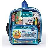 Apsara Stationery Bag Kit-DIY House,Premium Colour Pencils, Matt Magic 2.0 Pencils, Water Colour Tube, Wax Crayon, Oil Pastel