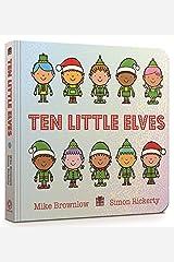 Ten Little Elves Board Book Board book