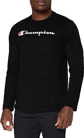 Champion Men's - Classic Logo Long Sleeve T-Shirt