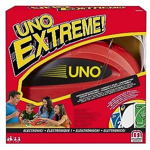Uno Extreme Jeu de Société et de Cartes avec Distributeur de Cartes, V9364