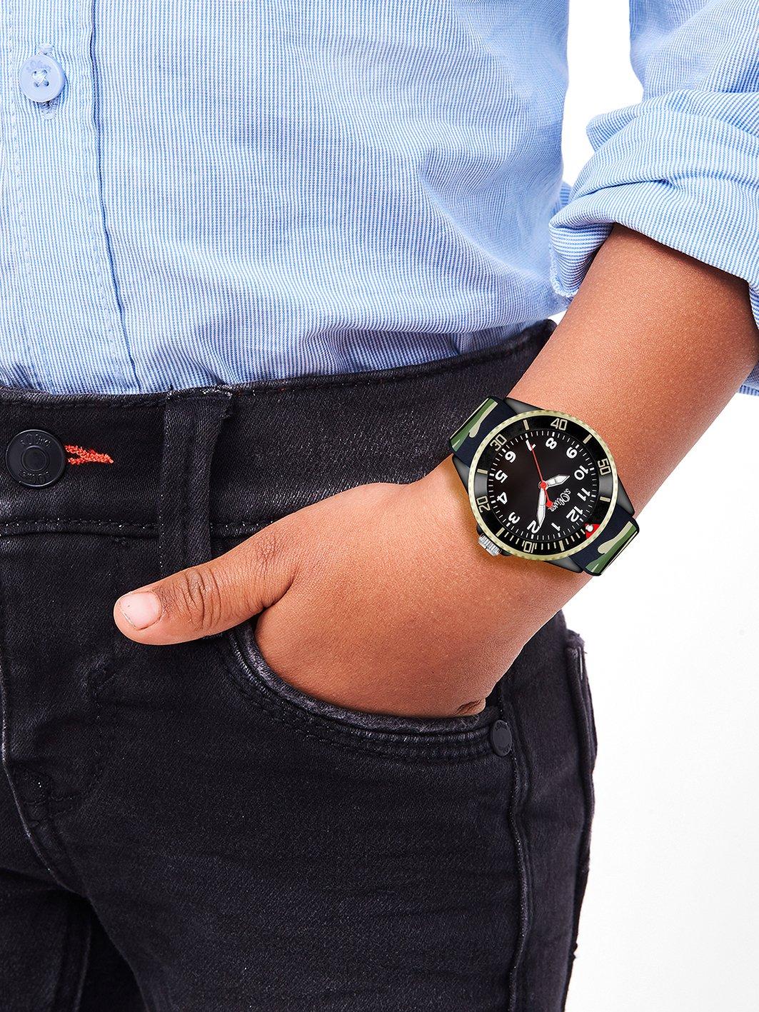 sOliver-Unisex-Armbanduhr-Analog-Quarz-Silikon