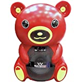 MicroPlus Bear Shape Speaker, Red - PS-3031