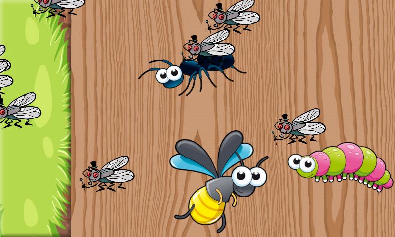Puzzles von Insekten für Kleinkinder und Kinder