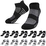 YouShow 10 Pares hombre mujer calcetín deportivos algodon calcetines cortos