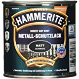AkzoNobel (DIY HAMMERITE) Metaalbeschermende lak mat zwart 0,250 L, 5134931