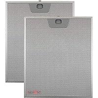 Kit 2 pièces. Filtres aluminium pour hottes Faber 253 x 300 x 8 mm