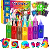 LET'S GOU! Tinte Ropa, Tie Dye Kit Juguetes Niña 6-13 Años Tinte Textil Regalos Niños 6 7 8 9 10 11 12 Años Tinte para Ropa J