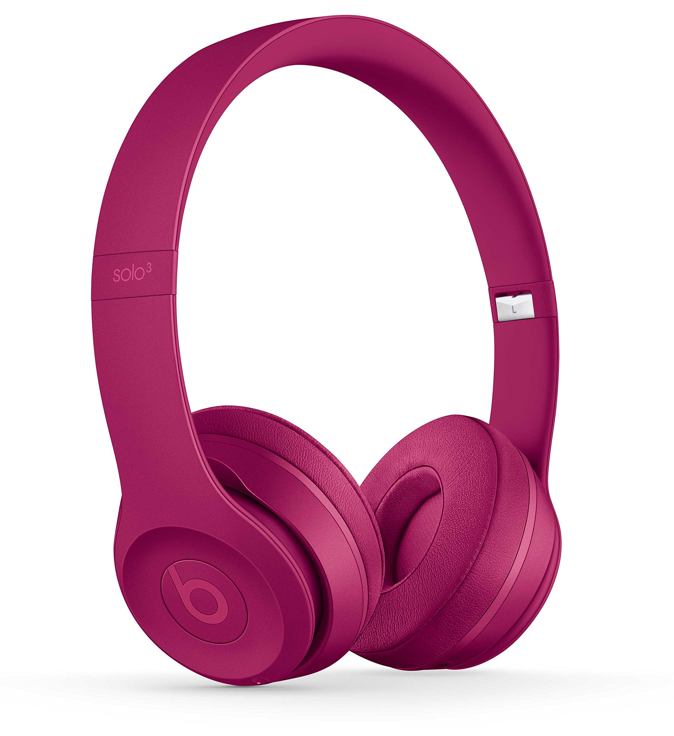 Beats Solo3 Wireless Kopfhörer – Neighbourhood Collection – Weinrot