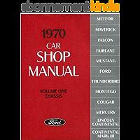 1970 Car Shop Manual (Volume I-V) (English Edition)