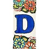 Huisbrieven 6 inch. Handgeschilderde huislettertegels voor borden, adressen en namen. Adresnummers voor huizen. Huisadresnumm