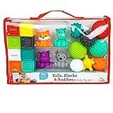 Infantino Blocks Balls and Buddies Activity Toy set