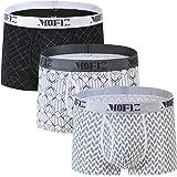 JINSHI Men's Boxer Shorts Soft Comfort Designer Trunks Underwear