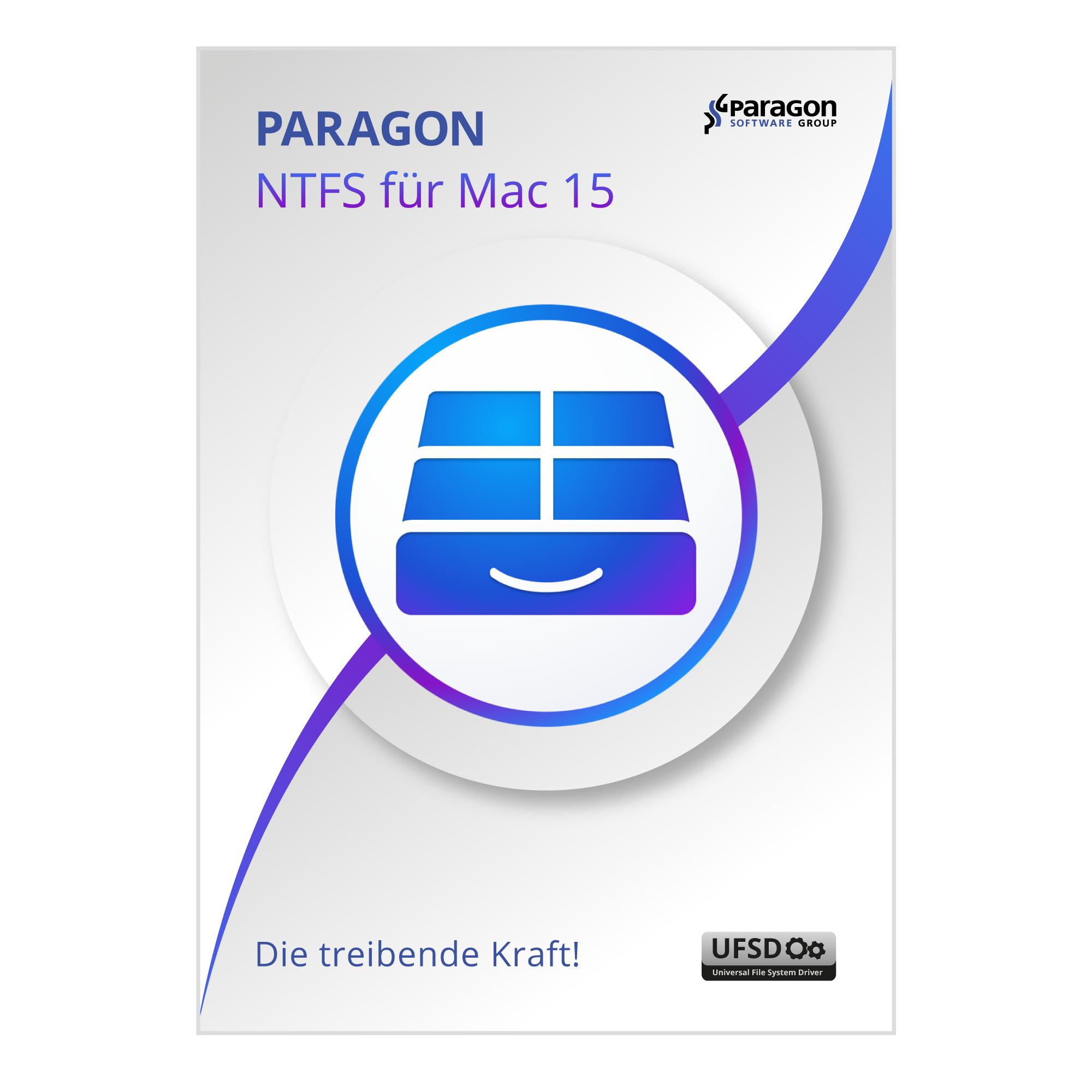 PARAGON NTFS FOR MAC 15 (Deutsch, Englisch, Französisch, Italienisch, Spanisch) [Download]