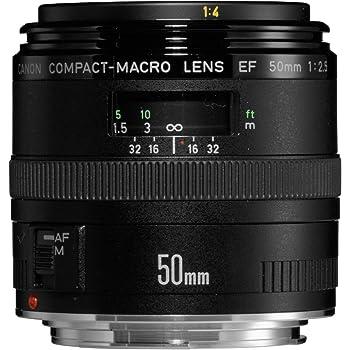 Canon EF 50mm/ 2,5/ Makro Objektiv: Amazon.de: Kamera