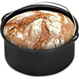Monzana® Brotbackkorb für Heißluftfritteuse 1,2 Liter Heißluft Fritteuse Heißluftofen