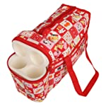 Cutieco Multipurpose Diaper Bag, Red
