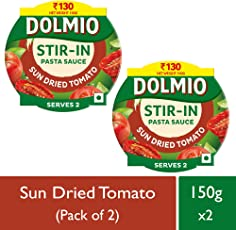 Dolmio Pasta Sauce Sundried Tomato,Stir in (Pack of 2), 2 * 150gm