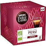 Nescafé Dolce Gusto Espresso Peru Bio - Café - 72 Capsules (Pack de 6 boîtes x 12)