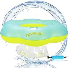 EDWEKIN Baby Schwimmring, Mitwachsende Schwimmhilfe, Baby Float, Schwimmsitz, Schwimmreifen für Babys, Kleinkinder, Kinder ab 6 Monate bis 3 Jahre
