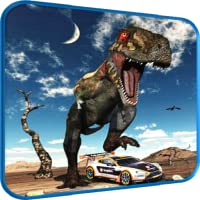 Car Racing in Dinos