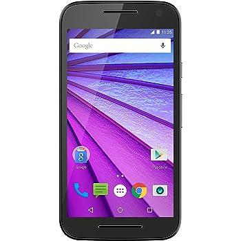 """Motorola Moto G 4G 3 Generazione Smartphone, Display 5"""", LTE, Fotocamera 13 MP, Memoria 8 GB, Android 5 Lollipop, Nero [Italia]"""