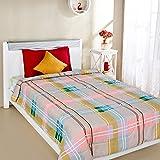 Amazon Brand - Solimo Pristine Plaid Microfibre Printed Quilt Blanket, 120 GSM, Grey, Single