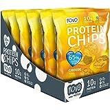 Novo Nutrition Protein Chips Snacks, Lot de 6