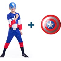 Fancydresswale Captain America Costume + Shield