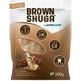Puresweet Brown Shuga® 500g, Brown Sugar Alternative, No Bitter Aftertaste, Keto and Diabetic Friendly, Non GMO, Vegan…