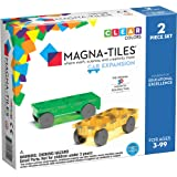 Magna-Tiles Cars Expansion Set, The Original Magnetic Building Tiles For Creative Open-Ended Play, Educational Toys For Child
