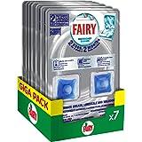 Fairy Additivo Cura Lavastoviglie, 14 cicli, 7 Confezioni x 2, 14 Mesi Trattamento, Maxi Formato, per una Lavastoviglie Fresc