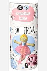 Costruisci la tua ballerina. Creative tube. Ediz. a colori. Con gadget Copertina flessibile